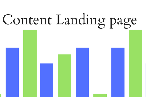 Content Landing page