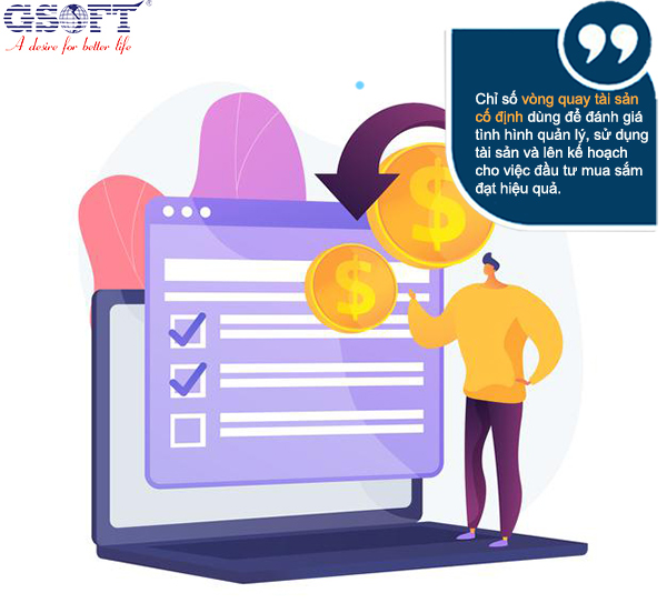 chỉ số vòng quay tài sản cố định rất quan trọng trong quản lý tài sản