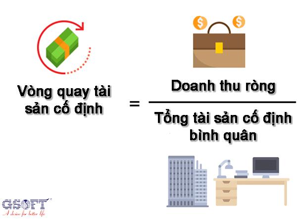 công thức tính vòng quay tài sản cố định